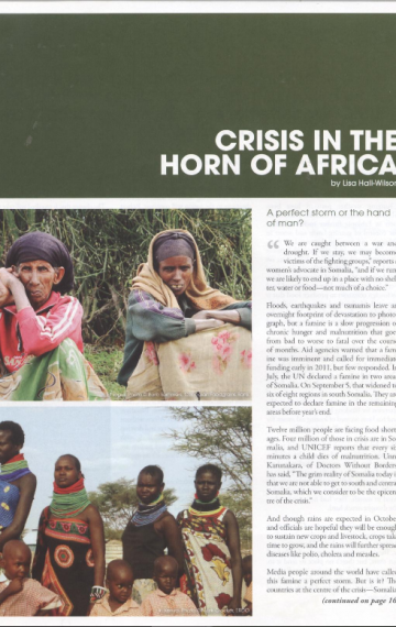 Crisis in the Horn of Africa