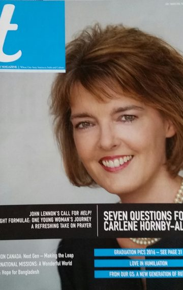 7 Questions For Carlene Hornby-Allen