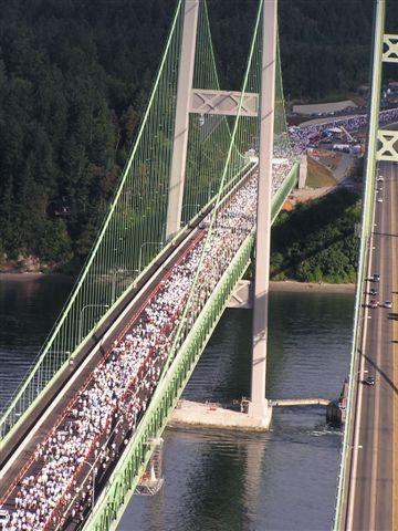 Tacoma Narrows Bridge, Puget Sound
