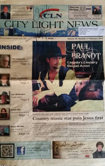 7 Questions For Paul Brandt